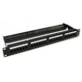 COMMSCOPE AMP Panel - Cat.6 1U 24 Port, Loaded