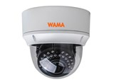 "WAMA"" AF4-V54W 4MP vandal resistant dome AHD camera, f=2.8-12mm, IR=25m, IP66"